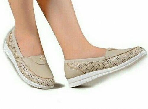 کفش طبی چرم زنانه