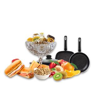 غذا، ناهار، شام، شیرینی، میوه، آجیل و ...