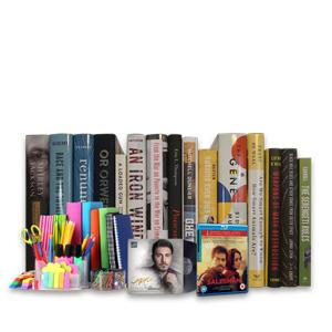 کتاب، لوازم تحریر، فیلم، موزیک و نرمافزار